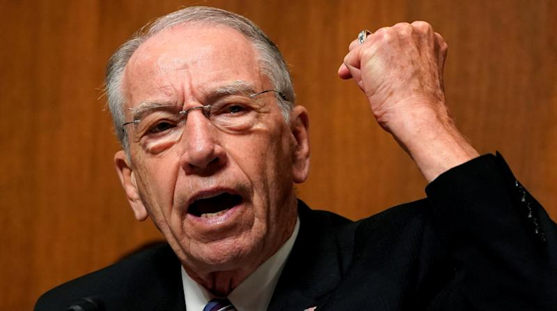 Millionaire Sen. Chuck Grassley Applying For Trump's Farm Bailout Funds