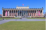 <p>Designed by Karl Friedrich Schinkel under King Friedrich Wilhelm III and inuagurated in 1830, the Altes (or old) Museum is one of the finest examples of Neoclassical architecture in Germany and is the oldest museum in Berlin. Behind that dramatic colonnade of the Ionic order is house, perhaps appropriately so, a collection of classical antiquities. </p>