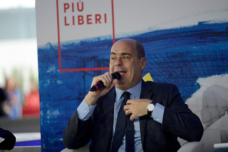 ROME, ITALY - DECEMBER 04:Secretaryof Democratic Party Nicola Zingaretti during the Piu Libri Piu Liberi Publishing Fair at the Convention Center La Nuvola, on December 4, 2019 in Rome, Italy. (Photo by Simona Granati - Corbis/Getty Images) (Photo: Simona Granati - Corbis via Getty Images)