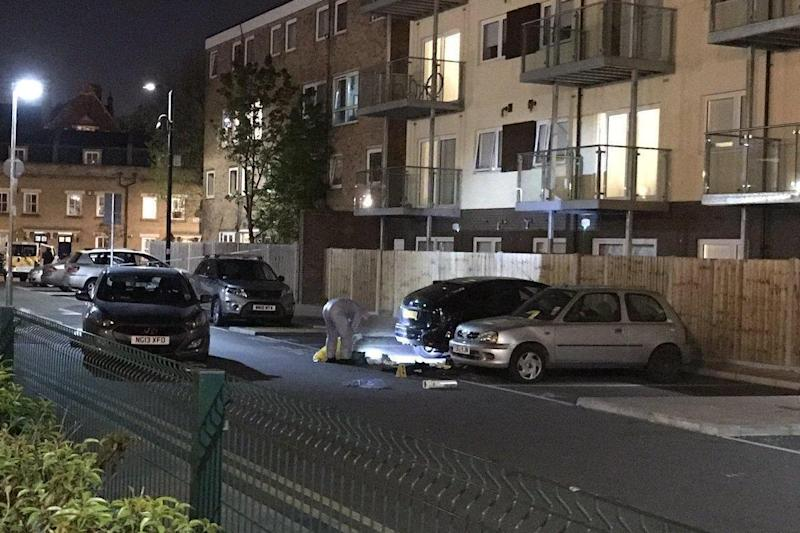 Mile End: The man was stabbed to death in Wager Street (@mo_rashid25 )