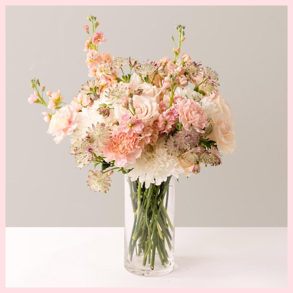 """$90, The Sill. <a href=""""https://www.thesill.com/products/the-r-r-fresh-flower-bouquet?variant=39326577361001"""" rel=""""nofollow noopener"""" target=""""_blank"""" data-ylk=""""slk:Get it now!"""" class=""""link rapid-noclick-resp"""">Get it now!</a>"""