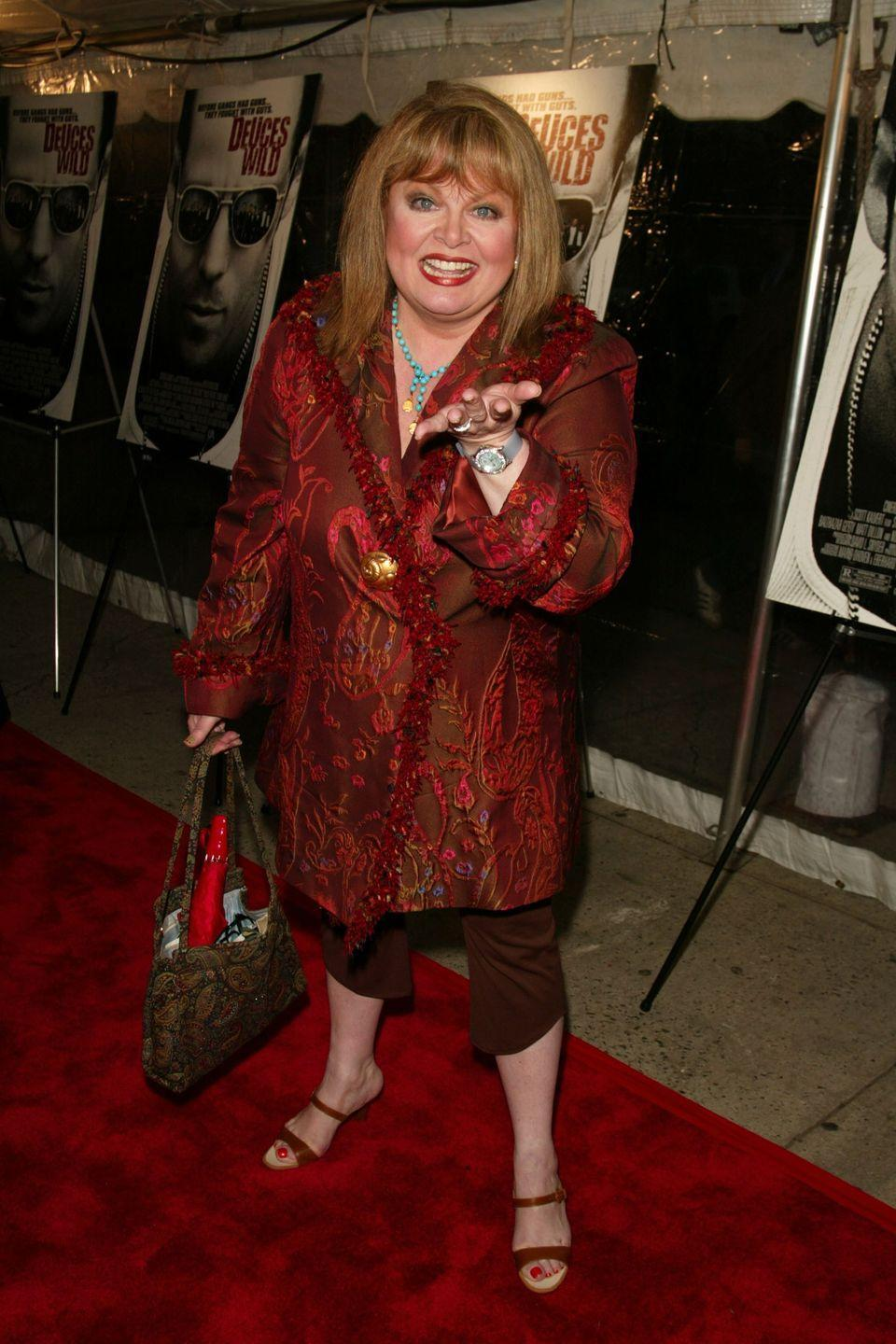 <p>America first got to know Sally Struthers for her role on <em>All In The Family, </em>where she playedGloria Bunker. Afterward, she moved on to theater. The actress bopped around television, appearing on various shows, until she filled the role as Lorelai and Rory's big-hearted neighbor, Babette, on <em>Gilmore Girls.</em></p>
