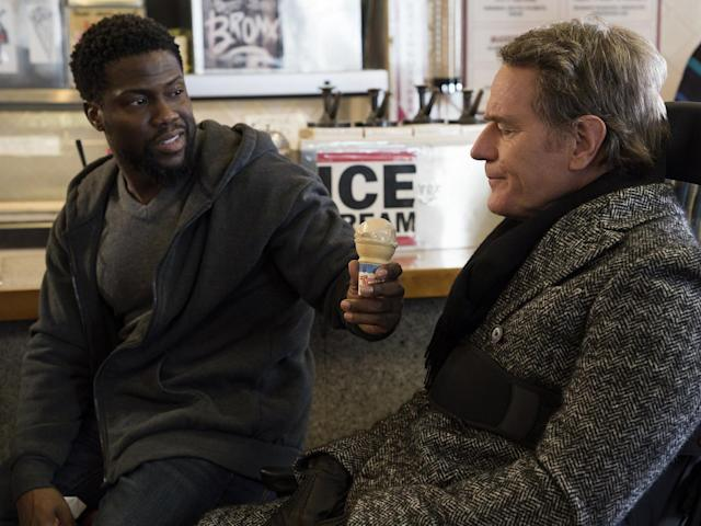 Bryan Cranston and Kevin Hart star in 'The Upside'