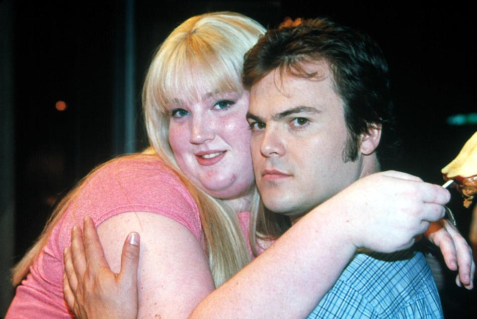 Rosemary and Hal holding each other