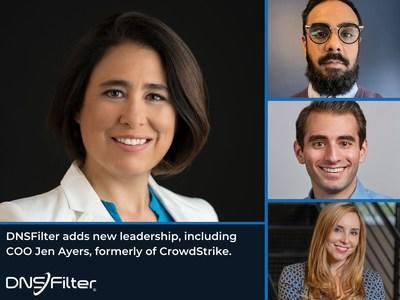 DNSFilter Expands Team Leaders, Including Jen Ayers From CrowdStrike as COO