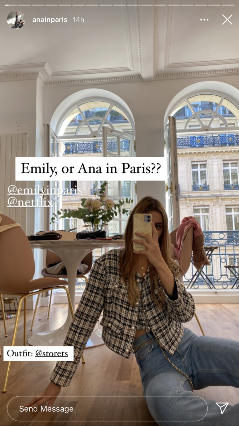 ana in paris