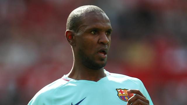 Andres Iniesta is irreplaceable, according to newly installed Barcelona technical director Eric Abidal.