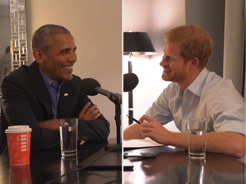 'Do I need a British accent?' Obama jokes with Prince Harry ahead of interview for BBC's 'Today' programme