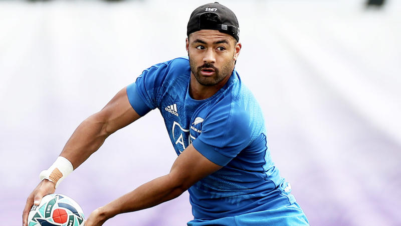 Richie Mo'unga was identified as one Crusaders player training in public despite New Zealand's coronavirus laws. (Getty Images)