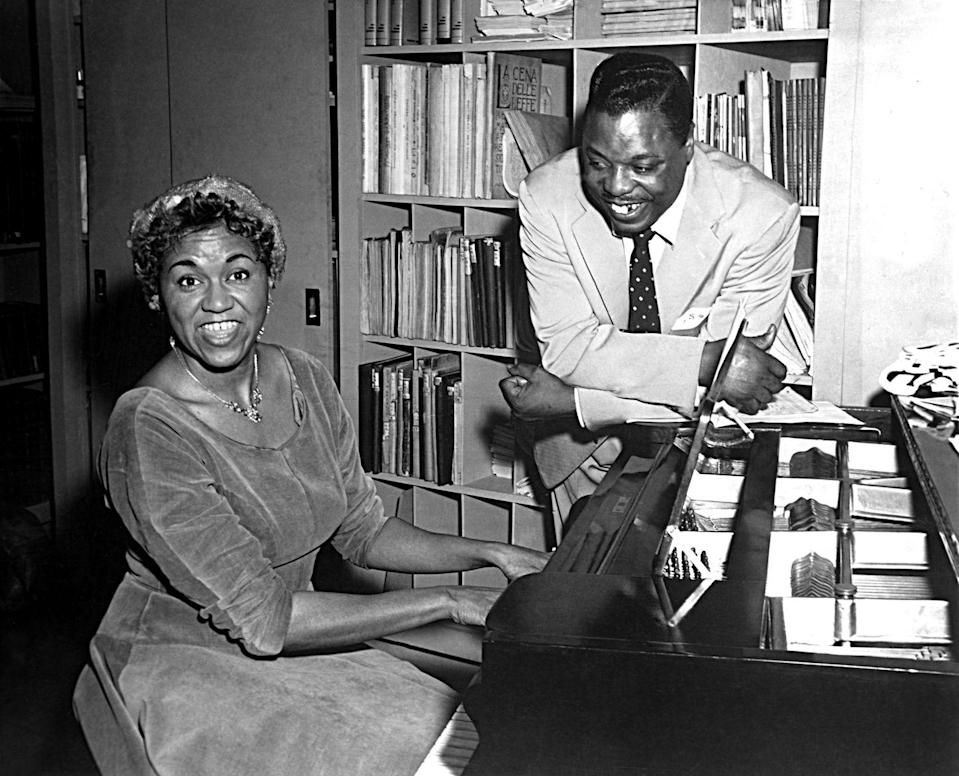 """<p>McCoy's name may not be instantly recognizable, but she wrote and produced some of the biggest pop songs in the 1950s. In an industry dominated by white males, McCoy was able to make her mark through her pen, even if she couldn't through her own voice. Her songs, """"After All"""" and """"<a href=""""https://youtu.be/2oPKJzlT5NM"""" rel=""""nofollow noopener"""" target=""""_blank"""" data-ylk=""""slk:Gabbin' Blues"""" class=""""link rapid-noclick-resp"""">Gabbin' Blues</a>"""" never quite took off on the charts, but she was courted by music labels to write for other artists, including hit singles for Big Maybelle, Elvis Presley, and Big Joe Turner. So now when you hear Presley's """"<a href=""""https://www.amazon.com/Trying-Get-You-2004-remaster/dp/B00136LQ6M/?tag=syn-yahoo-20&ascsubtag=%5Bartid%7C10063.g.35405218%5Bsrc%7Cyahoo-us"""" rel=""""nofollow noopener"""" target=""""_blank"""" data-ylk=""""slk:Trying to Get You"""" class=""""link rapid-noclick-resp"""">Trying to Get You</a>,"""" you'll remember the name of the African American woman who wrote it.</p>"""
