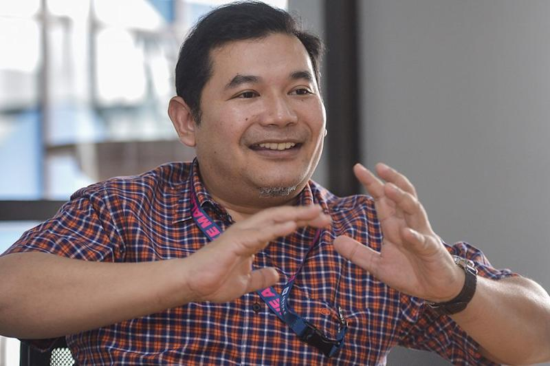 PKR's Rafizi Ramli has been granted special permission to contest in the party polls. ― Picture by Mukhriz Hazim