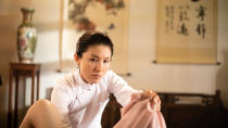 "Lina Ng in Mediacorp's M18 drama series ""The Last Madame"". (Photo: Mediacorp)"