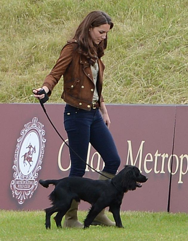 Kate Middleton omg! moments: The moment she and Prince William got a pet. At the start of 2012, Palace officials confirmed that Kate and Prince William had adopted a black cocker spaniel. However, they remained tight-lipped as to what the pup was called. However, when Kate was asked what the dog was called during a trip to Oxford elementary school, she let slip that his name is Lupo. Whispers began that the dog was the first step towards Kate and Wills starting a family…