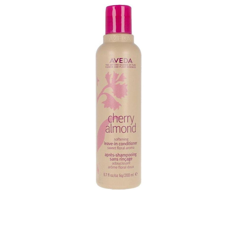 Made with cherry blossom extract, sweet almond oil, and moringa oil, Aveda's Cherry Almond Softening Leave-In Conditioner boasts potent emollients, which strengthen and moisturize hair without weighing it down.