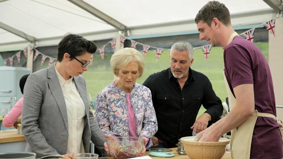 The Great British Baking Show on Amazon Prime