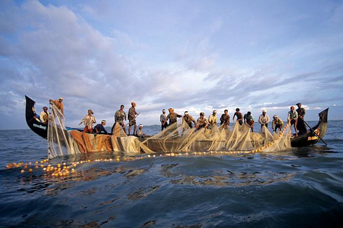 The surge in cases is mainly confined to fishing communities