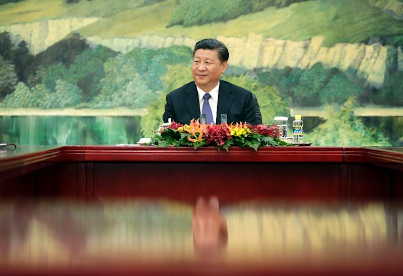 Chinese President Xi Jinping has overseen a tightening of controls on civil society since assuming power in 2012, closing avenues for legal activism that had opened up in recent years (AFP Photo/JASON LEE)