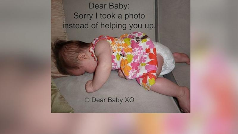 Hilarious Apology Photos Give New Take on Parenting