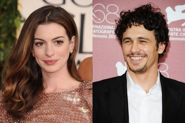 """<p><strong>A bedeviled pair: James Franco and Anne Hathaway</strong><br> In 2011, the Academy felt the worse kind of jonesin' for the youth crowd and tried an oddball bait. """"<a href=""""http://www.oscars.org/press/pressreleases/2010/20101129.html"""">James Franco and Anne Hathaway personify the next generation of Hollywood icons</a>,""""  producers crowed. A matchmaker might've warned against this  star-crossed pairing: a stoner poster boy who brought cutting to a whole  new level in """"127 Hours,"""" and a scrubbed fairy-tale princess who  battled evil queens and a devil in designer duds.</p>   <p>The co-hosting stint won a few fans, like Entertainment Weekly which admired their """"<a href=""""http://watching-tv.ew.com/2011/02/28/oscars-kings-speech-franco-hathaway/"""">combination of respect and informality</a>,"""" but a crotchety Hollywood Reporter dubbed the duo's efforts as """"<a href=""""http://www.hollywoodreporter.com/review/franco-bombs-at-oscars-makes-162234"""">spectacularly unwatchable</a>,""""  and viewers tuned out. Instead of seeking solace with one another like  any good rom-com or cop buddy movie, suddenly the two got all Darren  Aronofsky. Franco bore the brunt of the implosion, but told David  Letterman, """"I love her, but Anne Hathaway is so energetic, I think the  Tasmanian Devil would look stoned next to Anne Hathaway."""" Hathway's <a href=""""http://www.hollywoodreporter.com/news/anne-hathaway-responds-james-franco-205849"""">response a la Harper's Bazaar</a>:  """"I let James know that a whirling dervish is a more flattering  comparison than a Tasmanian devil. I called him, and we emailed a bit.""""  (Where are those Anonymous hackers when you need them?) Hathaway didn't  get all the blame: Franco also <a href=""""http://www.thewrap.com/awards/column-post/james-franco-slams-oscar-writer-bruce-vilanch-25696"""">blasted the Oscar writers</a> and <a href=""""http://www.playboy.com/magazine/james-franco-interview/2"""">said to Playboy</a> about his enforced drag scene: """"This is not my boat. I'm just a passen"""
