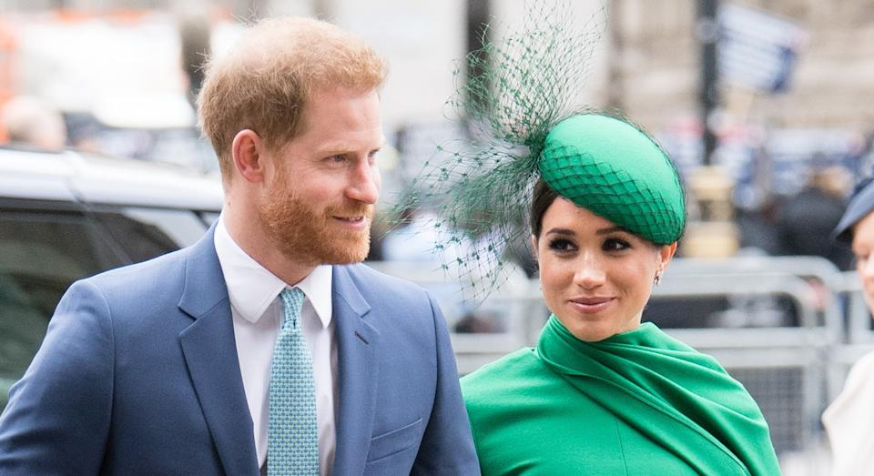 The 2020 book about the Duke and Duchess of Sussex will be re-released this summer. (Getty Images)