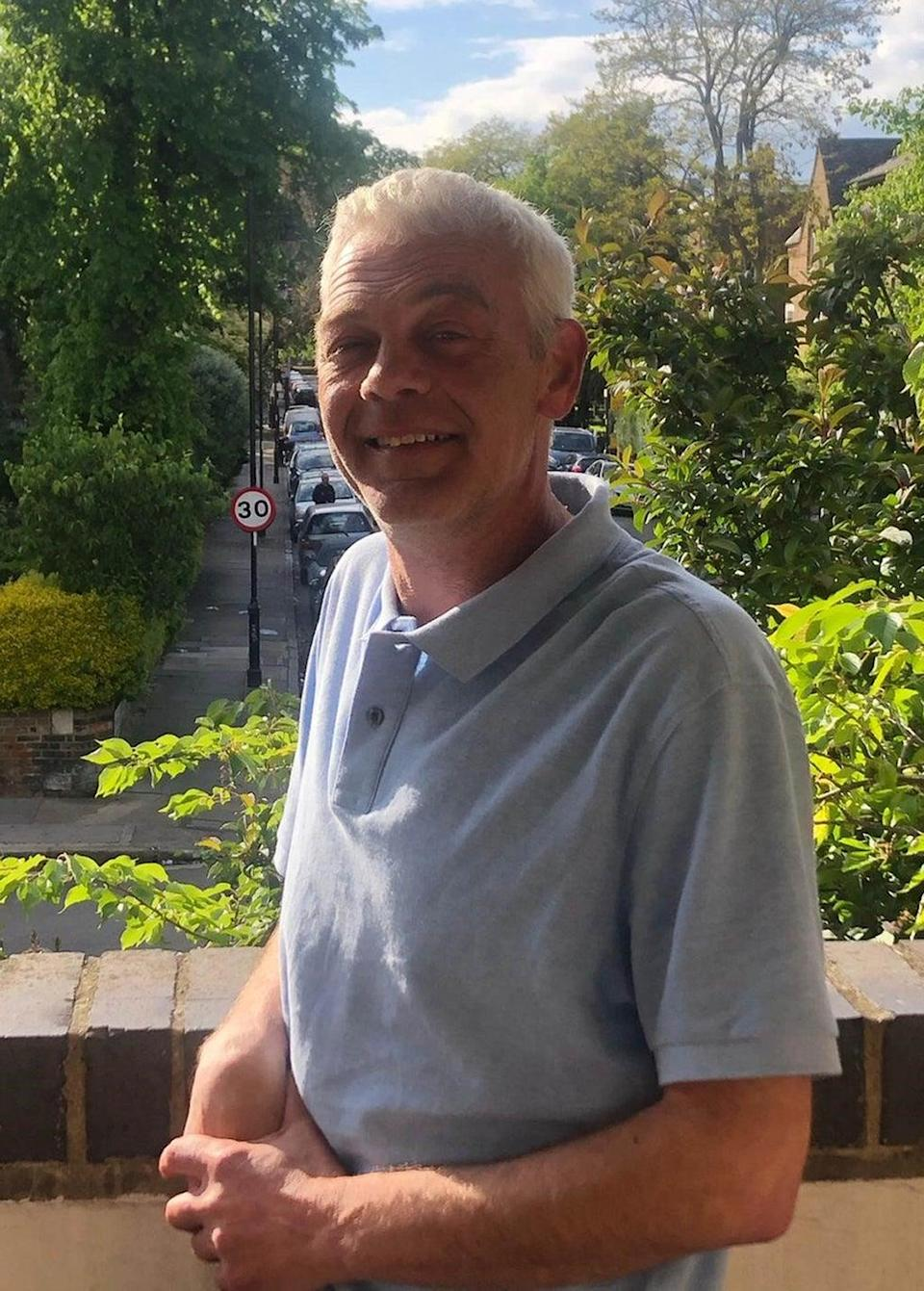 Tony Eastlake was fatally stabbed close to his stall in north London (Metropolitan Police/PA) (PA Wire)