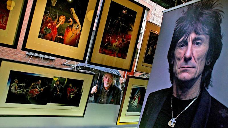 British Art Dealer Sentenced for Stealing Ronnie Wood's Paintings