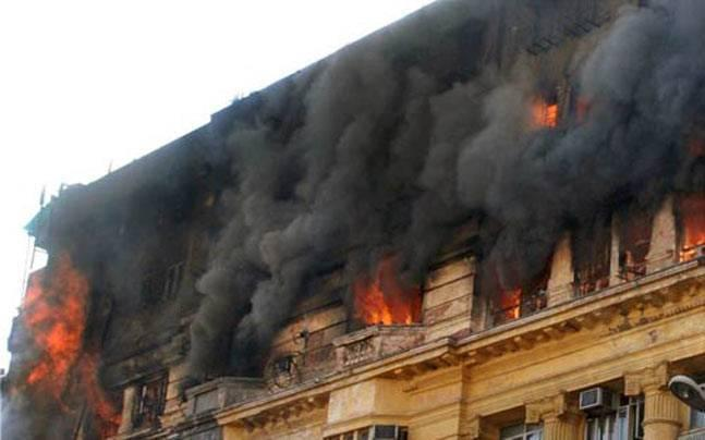Fire at thermocol factory in Howrah