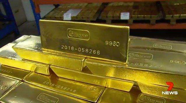 Judge Bruce Goetzes said Rousetty's crime has impacted the reputation of the Perth Mint. Photo: 7 News