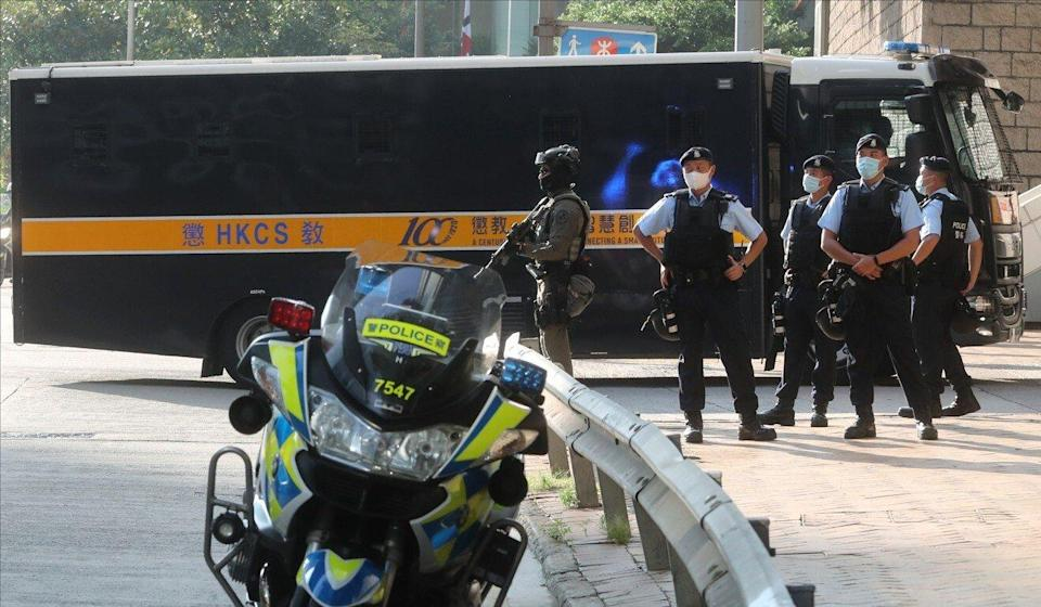 Ramanjit Singh is escorted to the High Court in September of last year. Photo: Edmond So