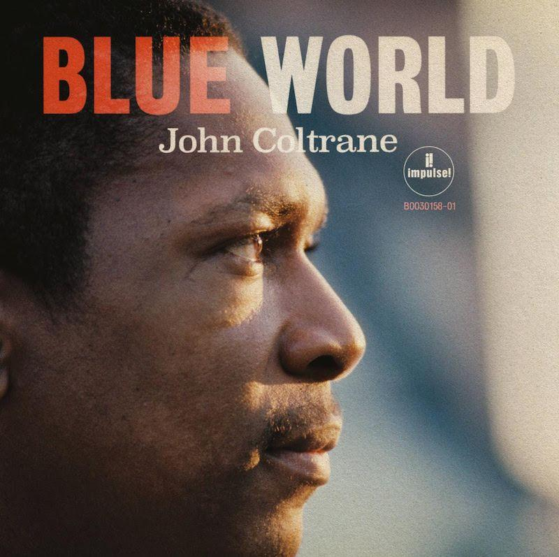 john coltrane blue world artwork