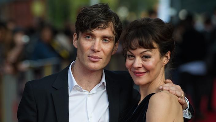 Cillian Murphy and Helen McCrory worked together on 'Peaky Blinders'. (PA)
