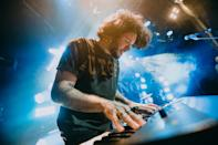 """<p>The Band Camino rocks out at their secret show at New York City's Bowery Ballroom on Sept. 13. The band released their debut album, featuring """"Underneath My Skin,"""" last week.</p>"""