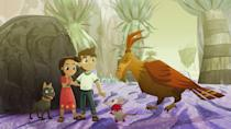 """<p><strong>Netflix's Description:</strong> """"A girl, a dog and her best pal set out to save a mountain from a gold-hungry corporation. But the key lies closer to home, with her sidekick pup, Xico.""""</p> <p><a href=""""https://www.netflix.com/title/81354432"""" class=""""link rapid-noclick-resp"""" rel=""""nofollow noopener"""" target=""""_blank"""" data-ylk=""""slk:Stream Xico's Journey on Netflix!"""">Stream <strong>Xico's Journey</strong> on Netflix!</a></p>"""