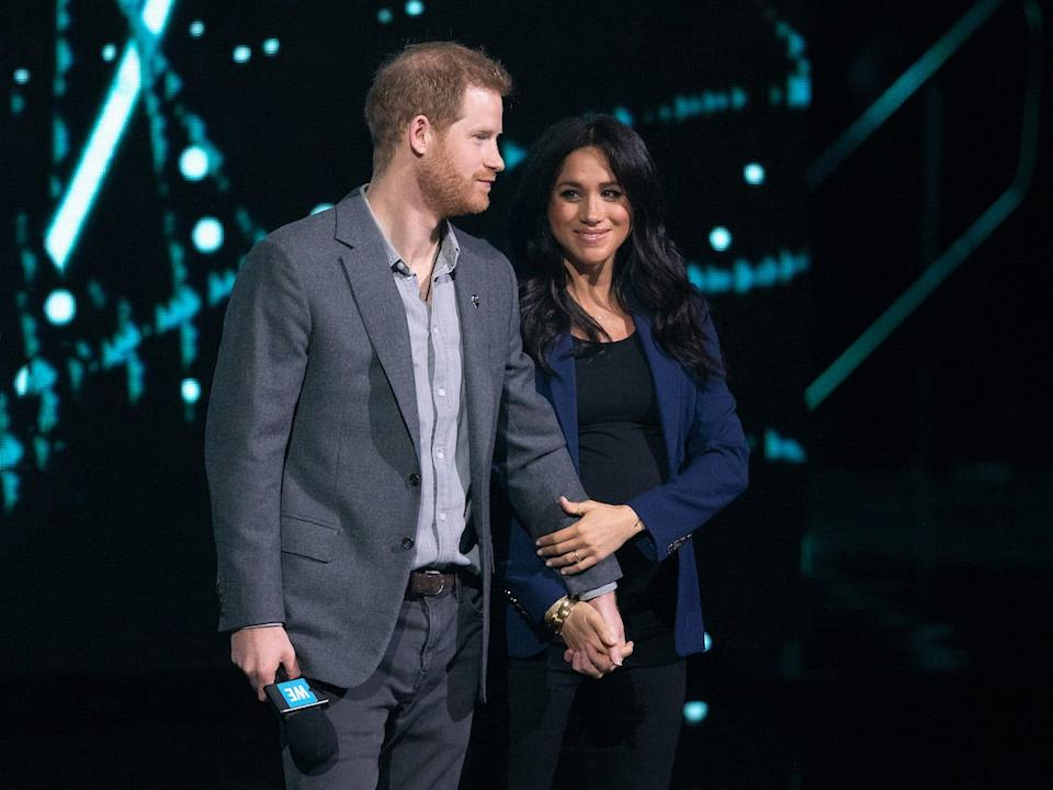 WE Day Harry and Meghan