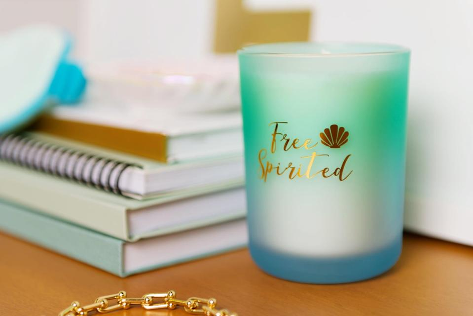 <p><strong>Candle:</strong> <span>Disney Princess X POPSUGAR Ariel Candle</span> ($13)</p> <p><strong>Scent:</strong> sea salt, lime, and basil</p> <p><strong>My review:</strong> This is hands down my favorite scent. It reminds me of a visit to the ocean, and the combination of smells is refreshing. I could light this every single day.</p>