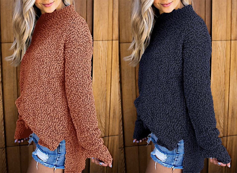 Perfect for pairing with leggings, jeans, and so much more. (Photo: Amazon)