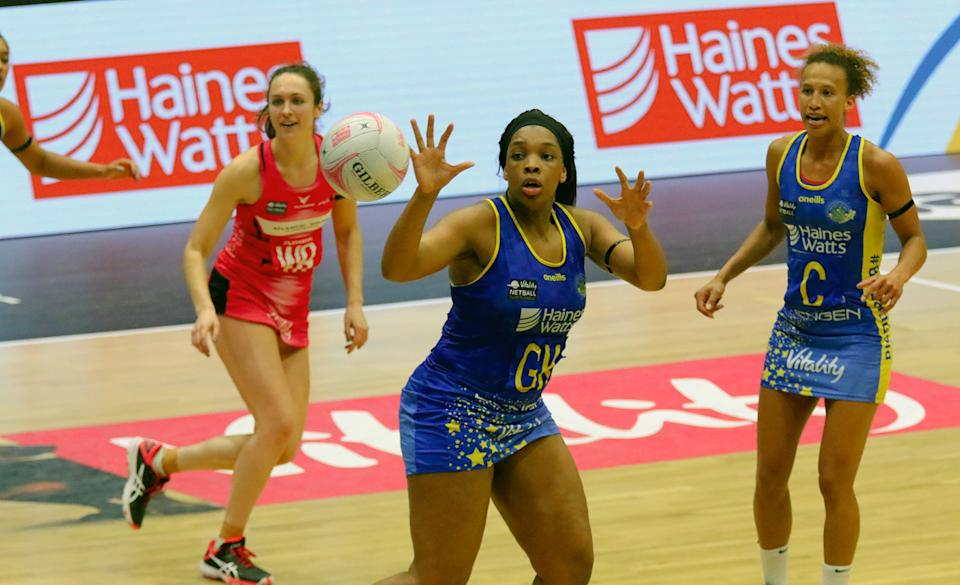 Bath top the Vitality Netball Superleague standings on 30 points.