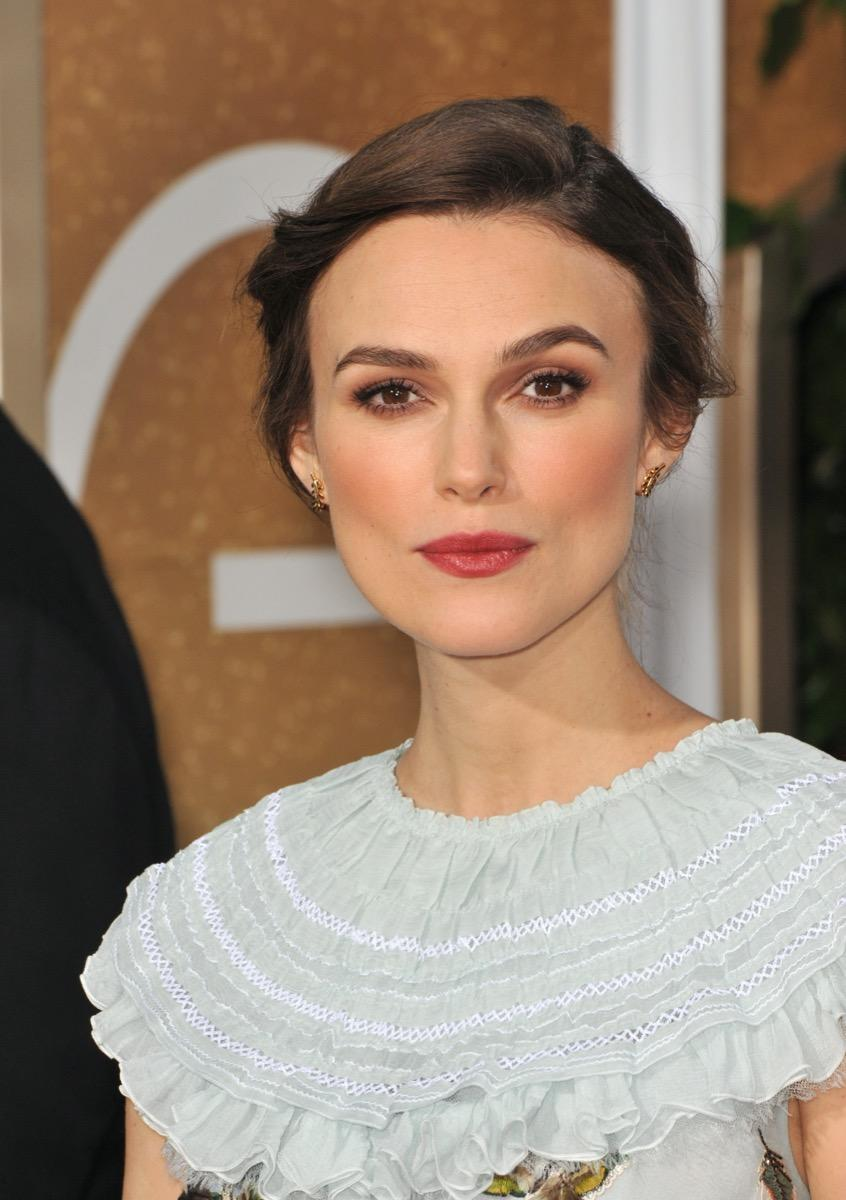 Keira Knightley at the 72nd Annual Golden Globe Awards in 2015