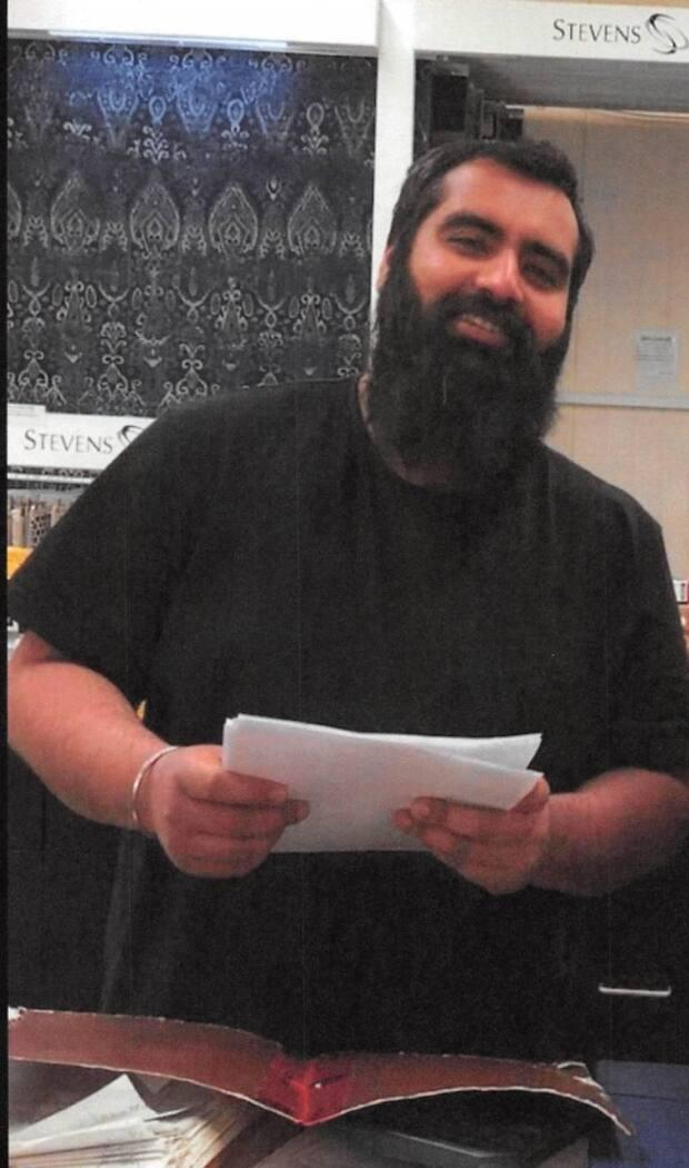Jashanpreet Liddar, 31, was last seen 'on or about January 17' at his home in Whitehorse, said RCMP in a short news release on Tuesday. (Submitted by RCMP - image credit)