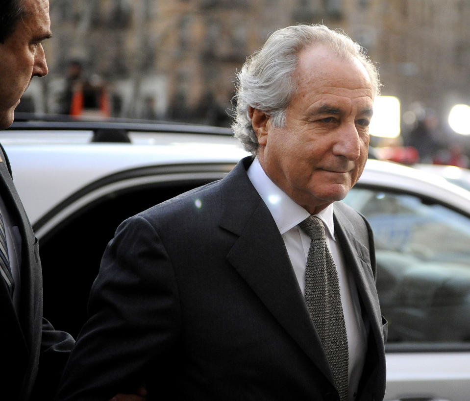 Bernard Madoff is a famous case of scamming. (Photo: Stephen Chernin/Getty Images)