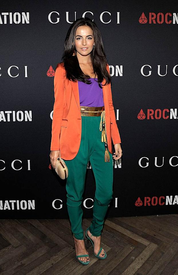 """""""From Prada to Nada"""" star Camilla Belle brightened up the brunch in head-to-toe Gucci. Charley Gallay/<a href=""""http://www.gettyimages.com/"""" target=""""new"""">GettyImages.com</a> - February 12, 2011"""