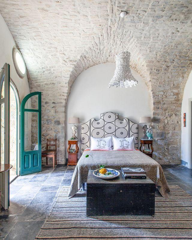 "<p>Bill Brockschmidt and Richard Dragisic mastered the art of preservation, bringing a ruined palazzo back from the brink with their Sicilian retreat. The guest bedroom captures all of its charm.</p><p><a class=""link rapid-noclick-resp"" href=""https://www.elledecor.com/design-decorate/house-interiors/a31978243/brockschmidt-palazzo-sicily/"" rel=""nofollow noopener"" target=""_blank"" data-ylk=""slk:TOUR THE HOME"">TOUR THE HOME</a></p><p><a href=""https://www.instagram.com/p/CAtRysfJmP_/"" rel=""nofollow noopener"" target=""_blank"" data-ylk=""slk:See the original post on Instagram"" class=""link rapid-noclick-resp"">See the original post on Instagram</a></p>"