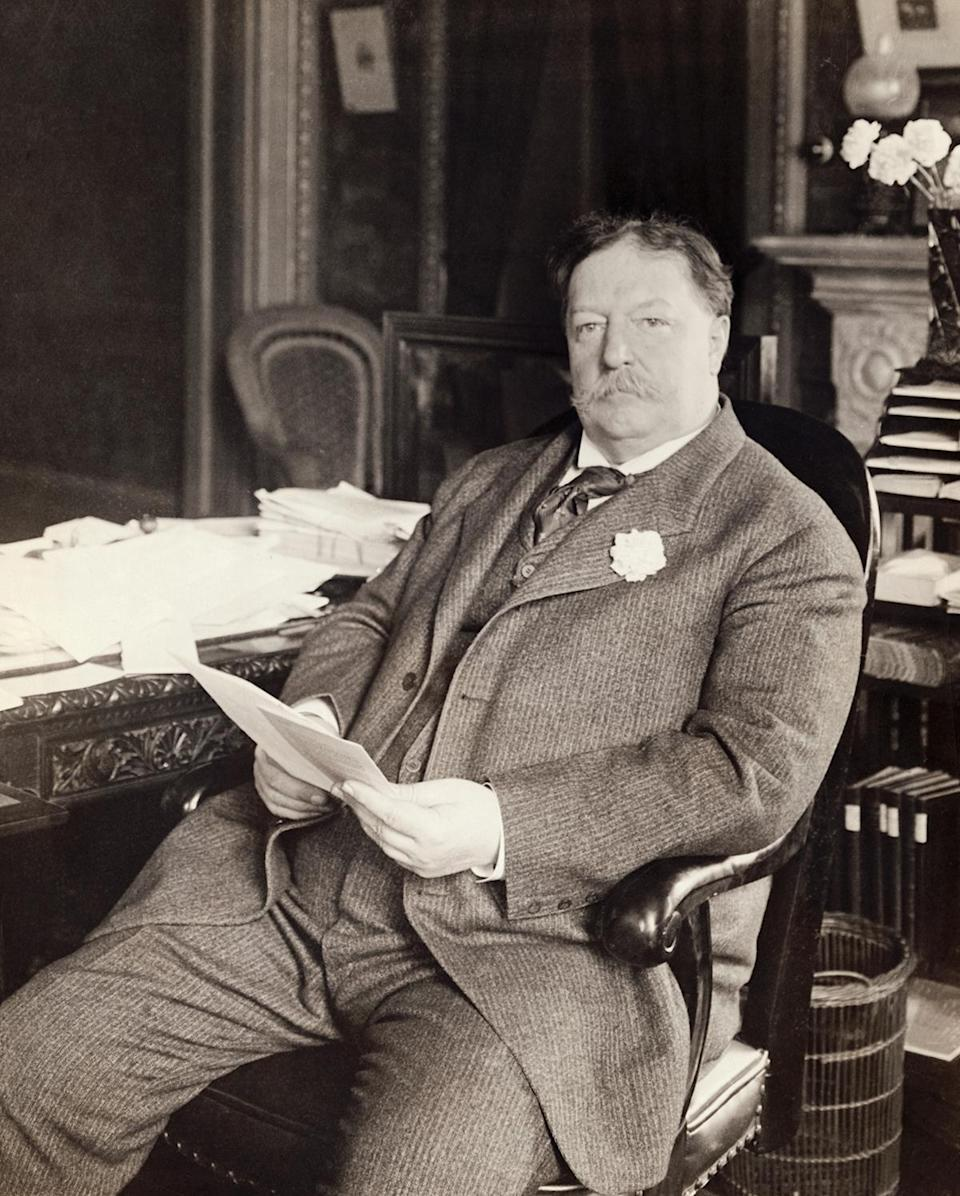 <p>Taft was also the first president to ever use the Oval Office as his official workplace, and all presidents have since followed his lead.</p>