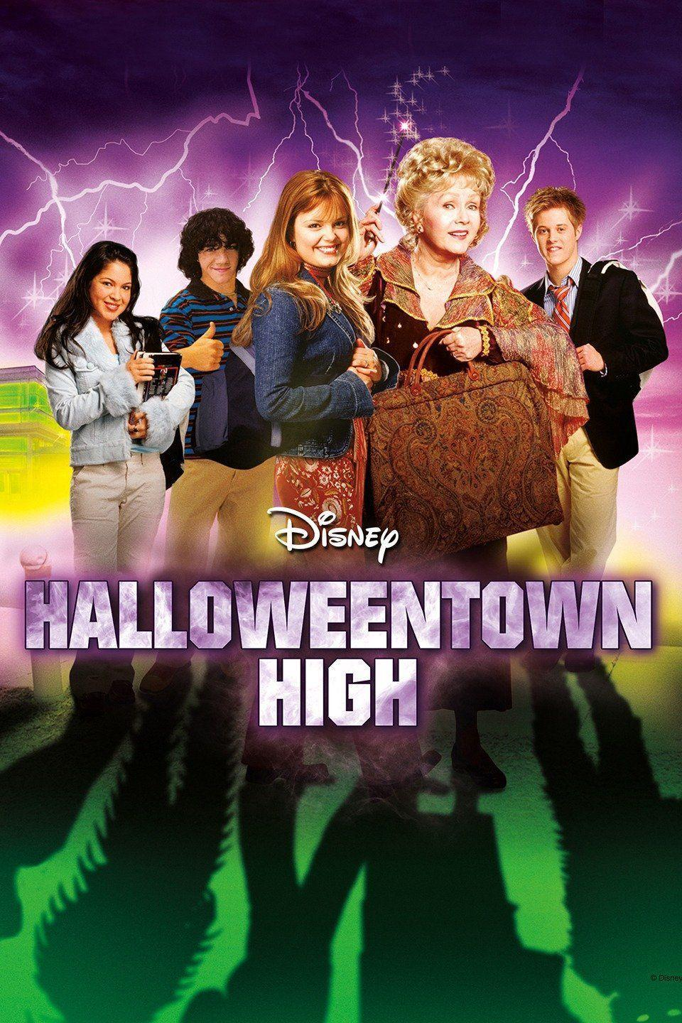 """<p>When a supernatural teen who comes from a family of witches brings some monster friends (think ogres and gremlins) into her """"mortal world"""" high school disguised as foreign exchange students, her school—and her magic—is threatened by an evil enemy. This movie is the third of the Halloweentown series.</p><p><a class=""""link rapid-noclick-resp"""" href=""""https://go.redirectingat.com?id=74968X1596630&url=https%3A%2F%2Fwww.disneyplus.com%2Fmovies%2Fhalloweentown-high%2F5vwJNkHUiI72&sref=https%3A%2F%2Fwww.countryliving.com%2Flife%2Fentertainment%2Fg32748070%2Fdisney-plus-halloween-movies%2F"""" rel=""""nofollow noopener"""" target=""""_blank"""" data-ylk=""""slk:WATCH NOW"""">WATCH NOW</a></p>"""