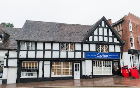 The Shifnal branch of the Carlini restaurant - Credit: Joseph Williams