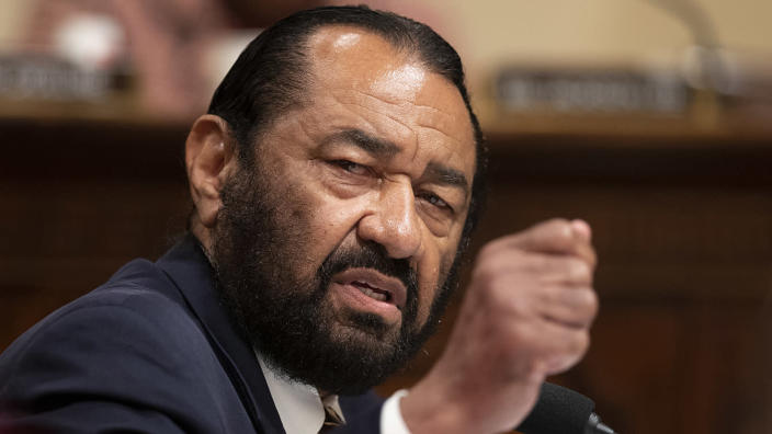 Rep. Al Green, D-Texas. (Photo: Manuel Balce Ceneta/AP)