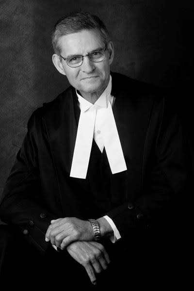 Former British Columbia chief justice Lance Finch dies at 82