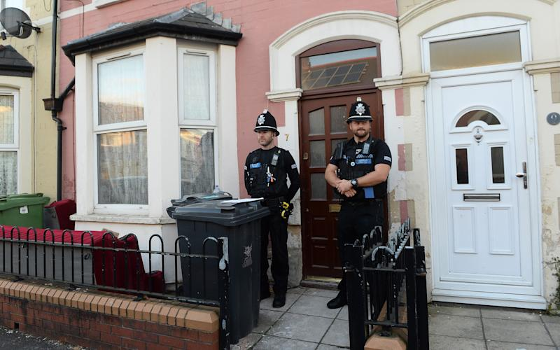 Police raided Ullah's home in Cardiff - Credit: Wales News Service