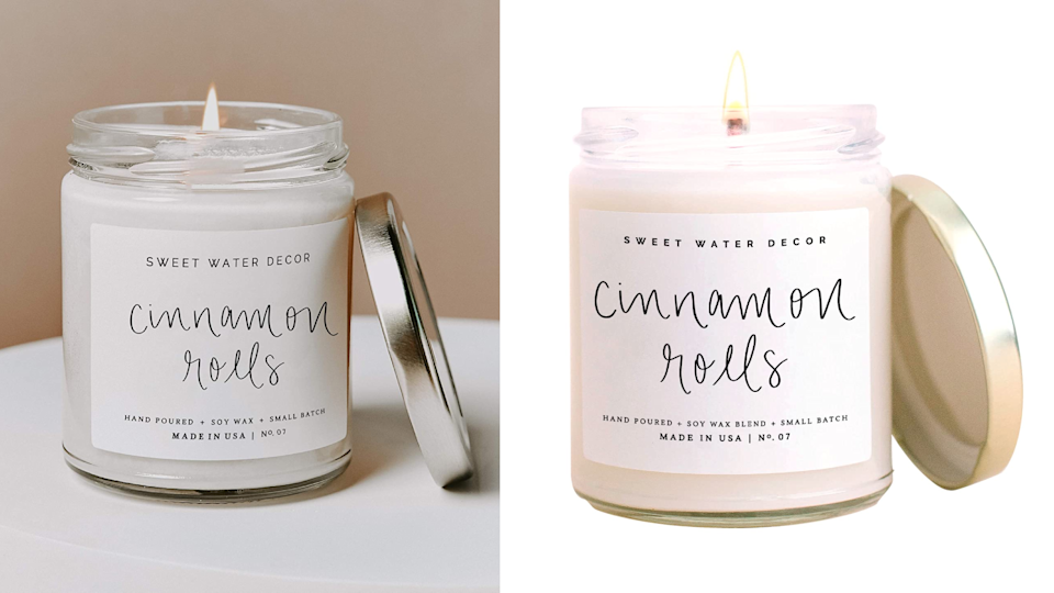 This candle is your favorite brunch treat in a jar.