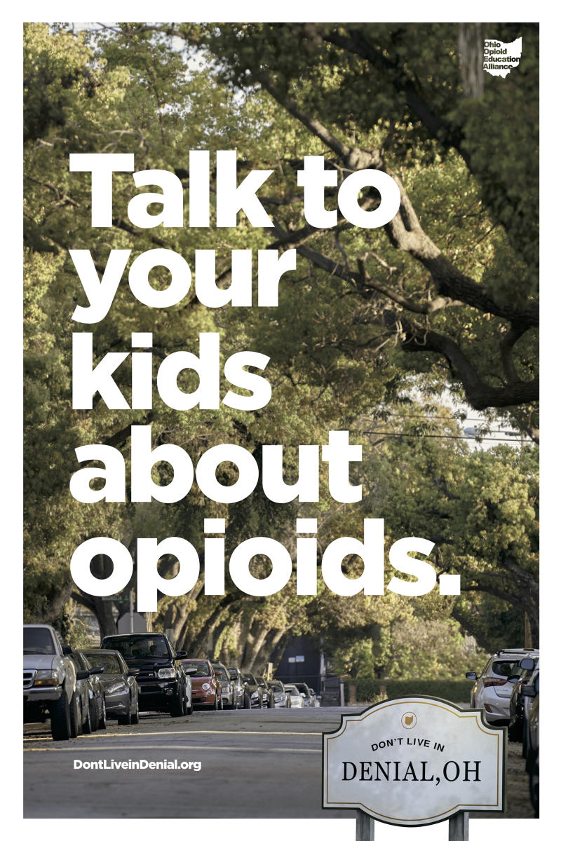 Talk to your kids about opioids